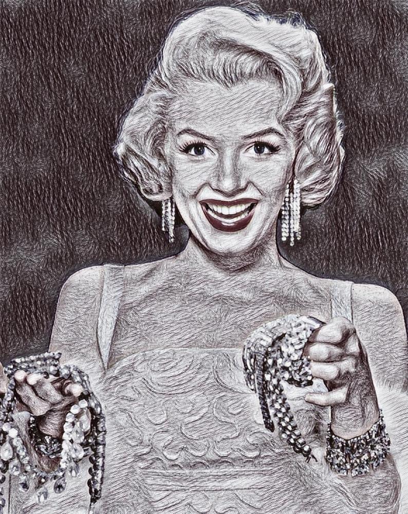 Marilyn Monroe by Sarius5
